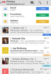 Gmail app screenshot