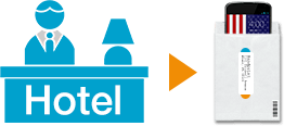 Pickup TravelSmart package at your hotel